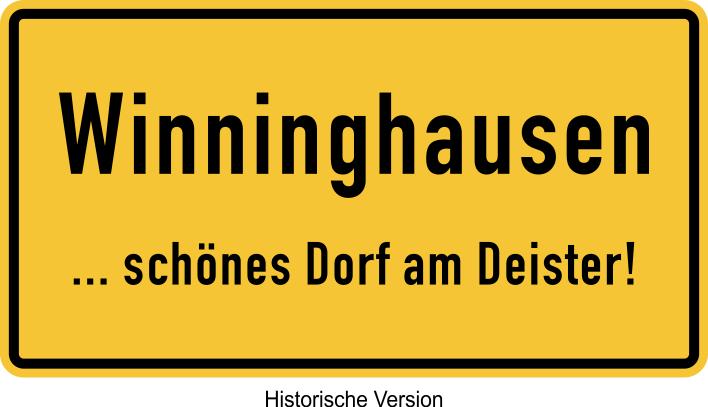 Winninghausen Schild