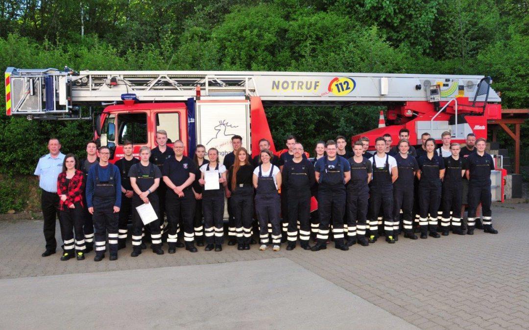 Truppmannausbildung Feuerwehr Barsinghausen 2018