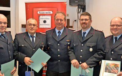 Schünhof erneut zum Ortsbrandmeister gewählt