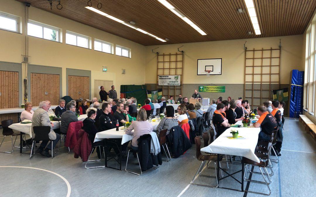 Jahreshauptversammlung des DGV Winninghausen
