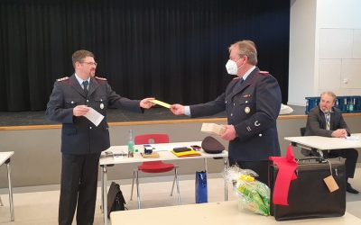 Schünhof gibt Posten als Ortsbrandmeister ab.
